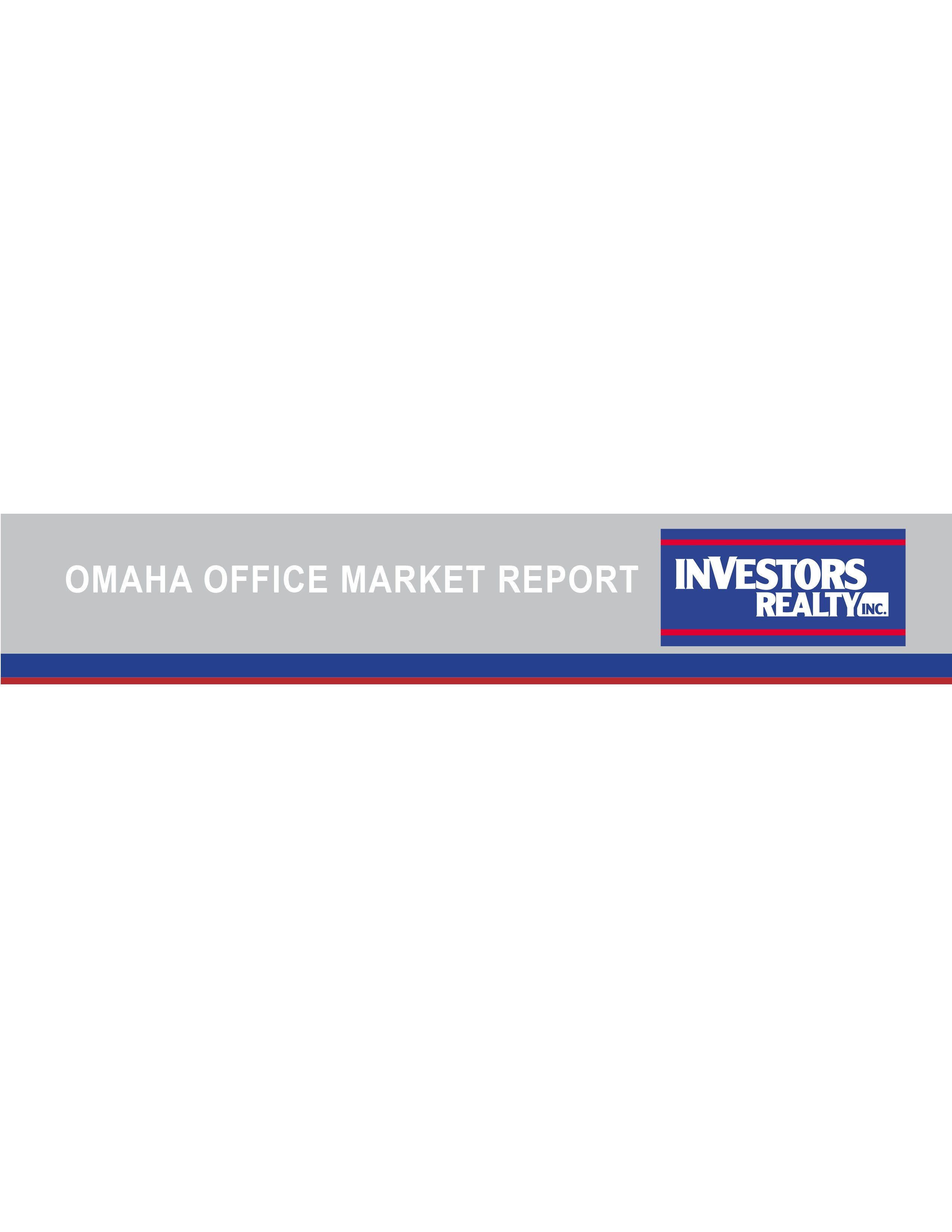 Investors Realty Winter 2013 Office Market Report