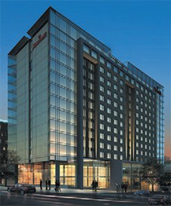 Marriot Hotel Rendering Downtown Omaha, NE
