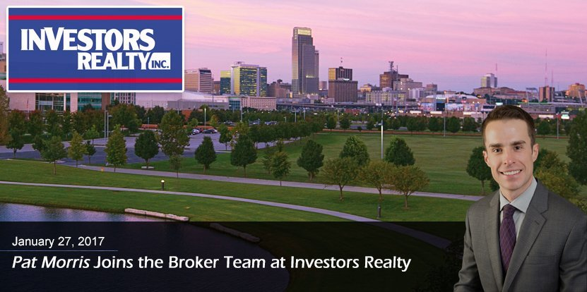 Investors Realty is proud to announce the hiring of Pat Morris as a commercial real estate broker