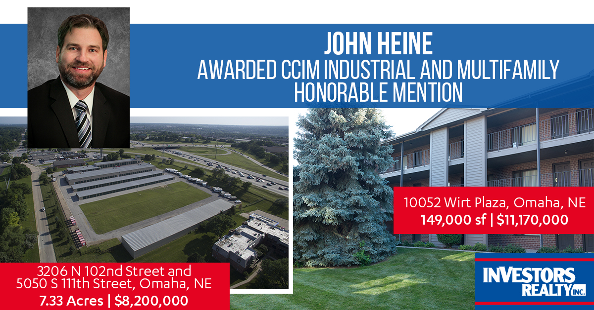John Heine -- CCIM Big Deal Honorable Mention
