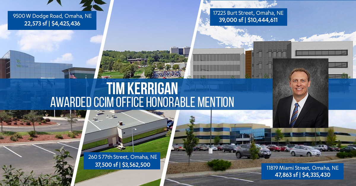 Tim Kerrigan - Award Winning Omaha Broker
