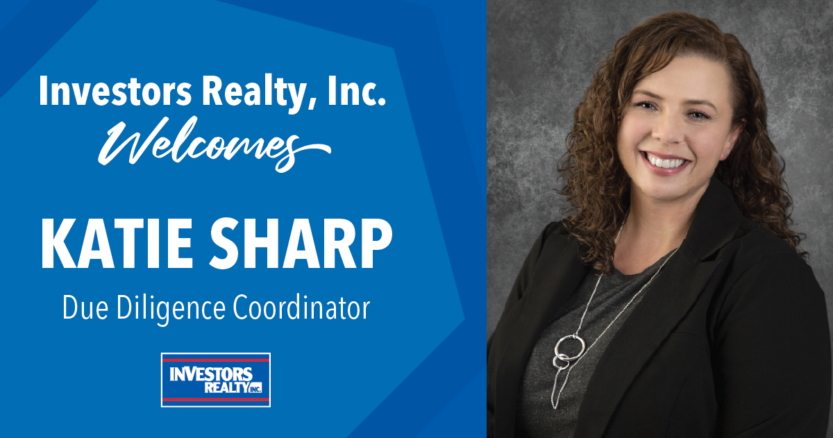 Investors Realty Welcomes Katie Sharp