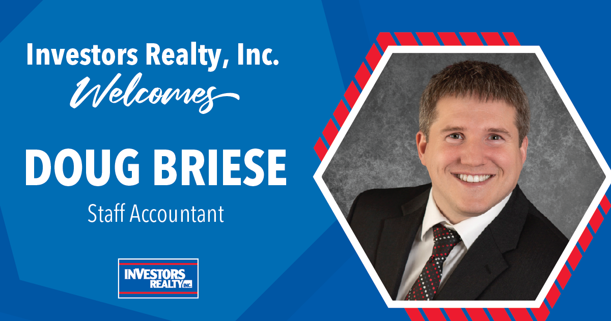 Investors Realty Welcomes Doug Briese