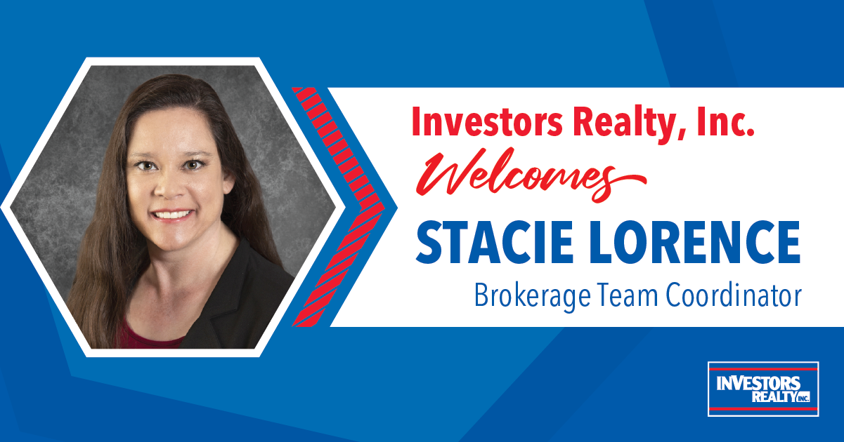 Investors Realty Welcomes Stacie Lorence