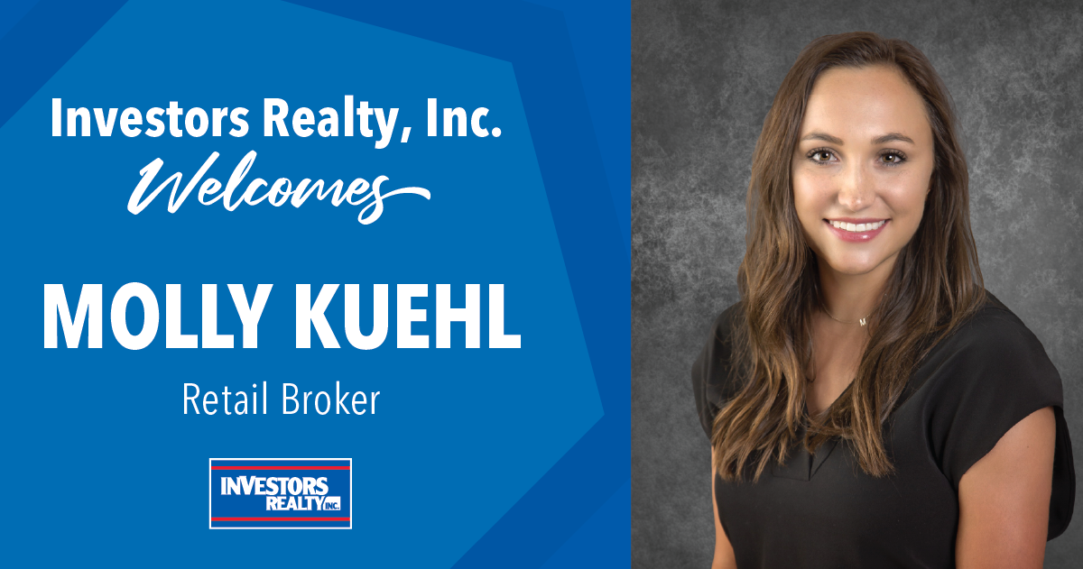 Investors Realty Welcomes Molly Kuehl