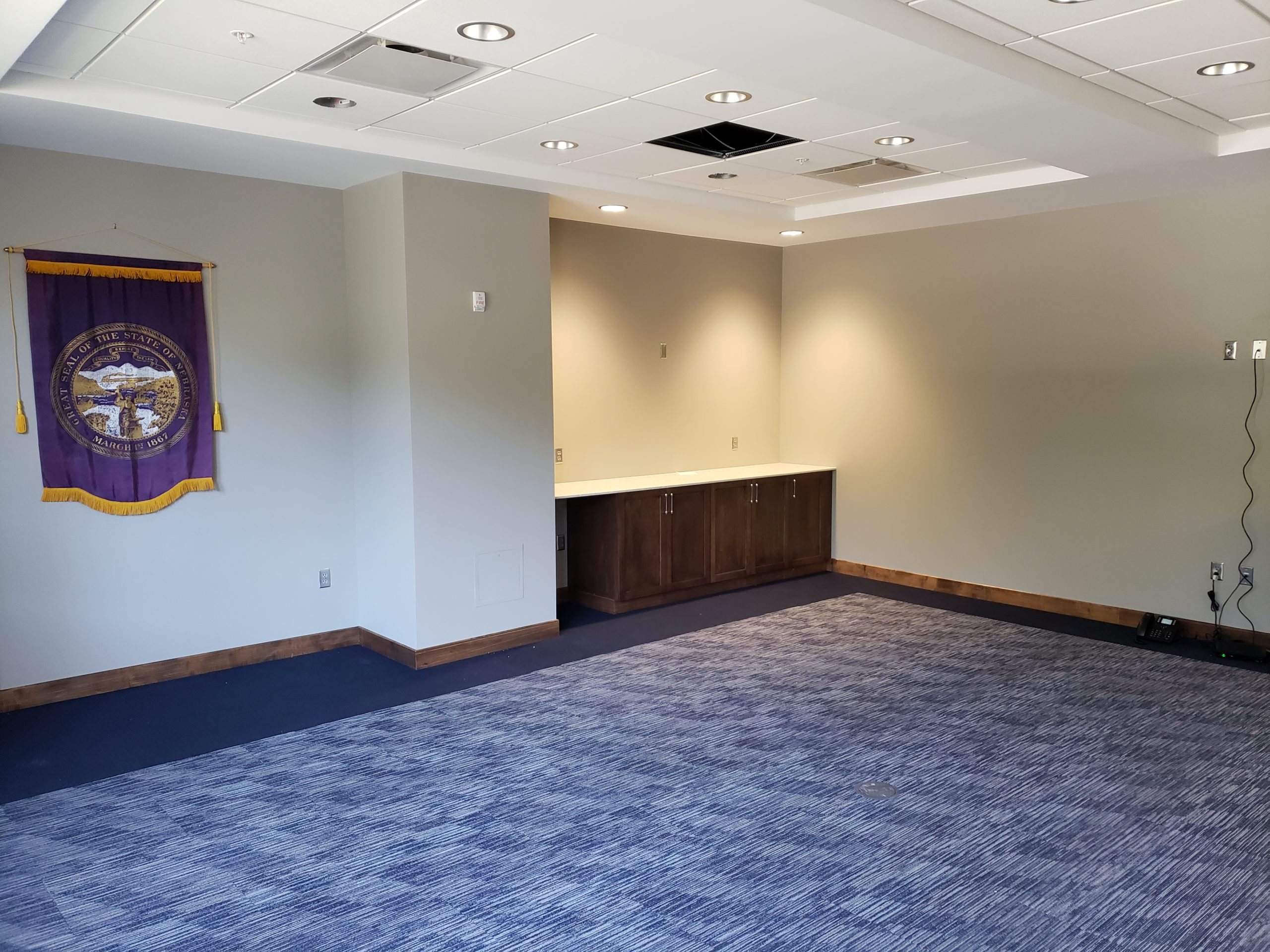 1 Conference Room finished without furniture Northeast view