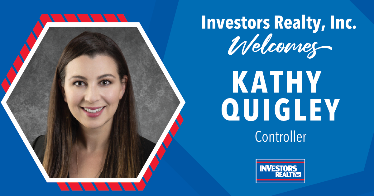 Investors Realty Welcomes Kathy Quigley