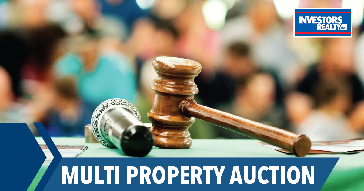 Commercial Property Auction: Investors Realty in Partnership with Nitz Auctions