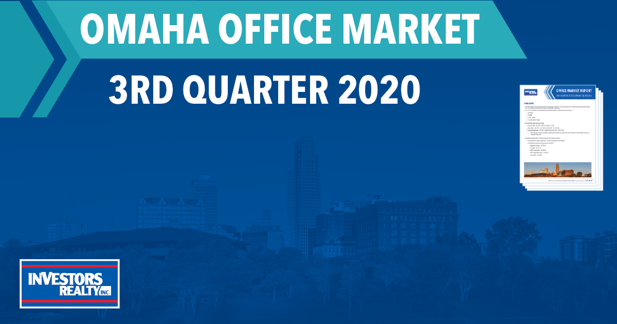 Investors Realty, Inc. 3rd Quarter 2020 Office Report
