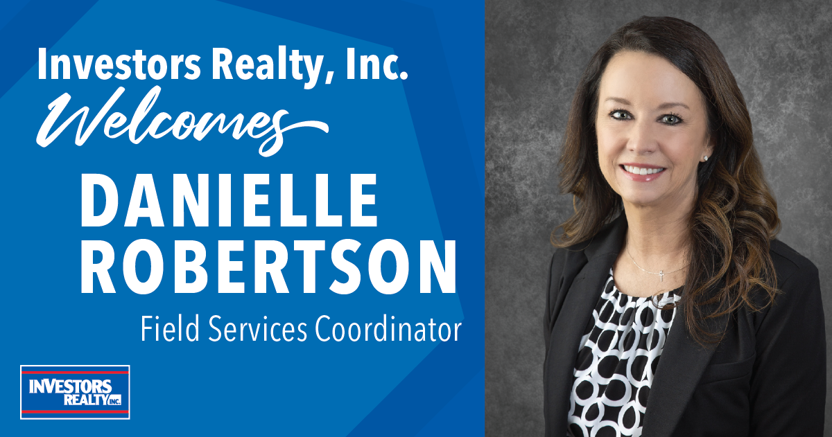 Investors Realty Welcomes Danielle Robertson