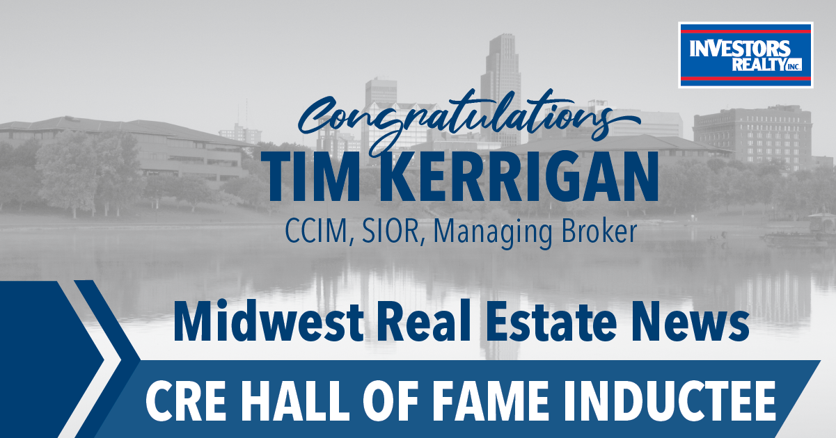Tim Kerrigan Inducted into Commercial Real Estate Hall of Fame