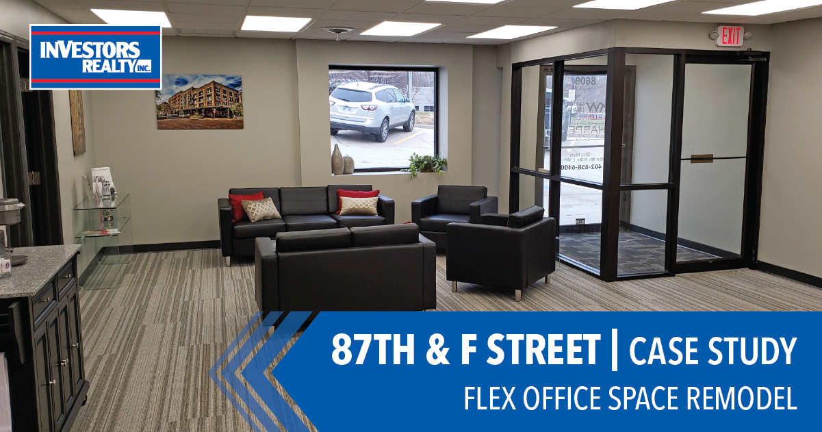87th & F Street | Flex Office Space Remodel
