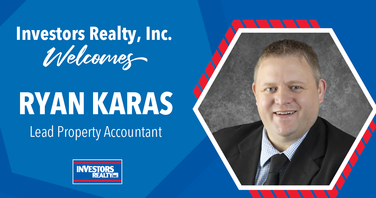 Investors Realty Welcomes Ryan Karas