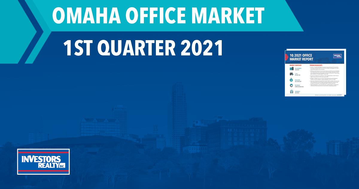 Investors Realty, Inc. 1st Quarter 2021 Office Report
