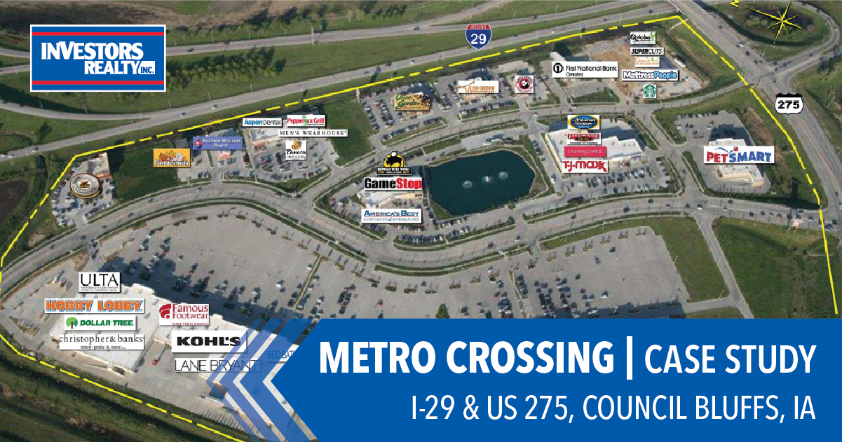 Metro Crossing Shopping CenterSells in Council Bluffs, IA