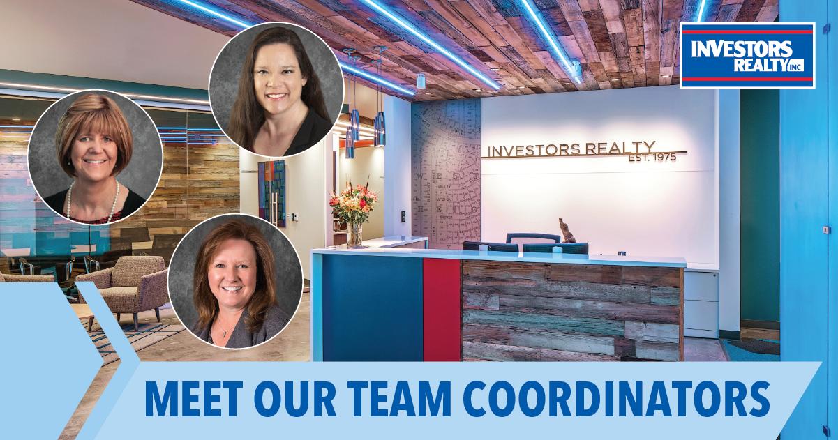 Meet Charlene Etheridge, Patti Zeis, and Stacie Lorence Our Team Coordinators