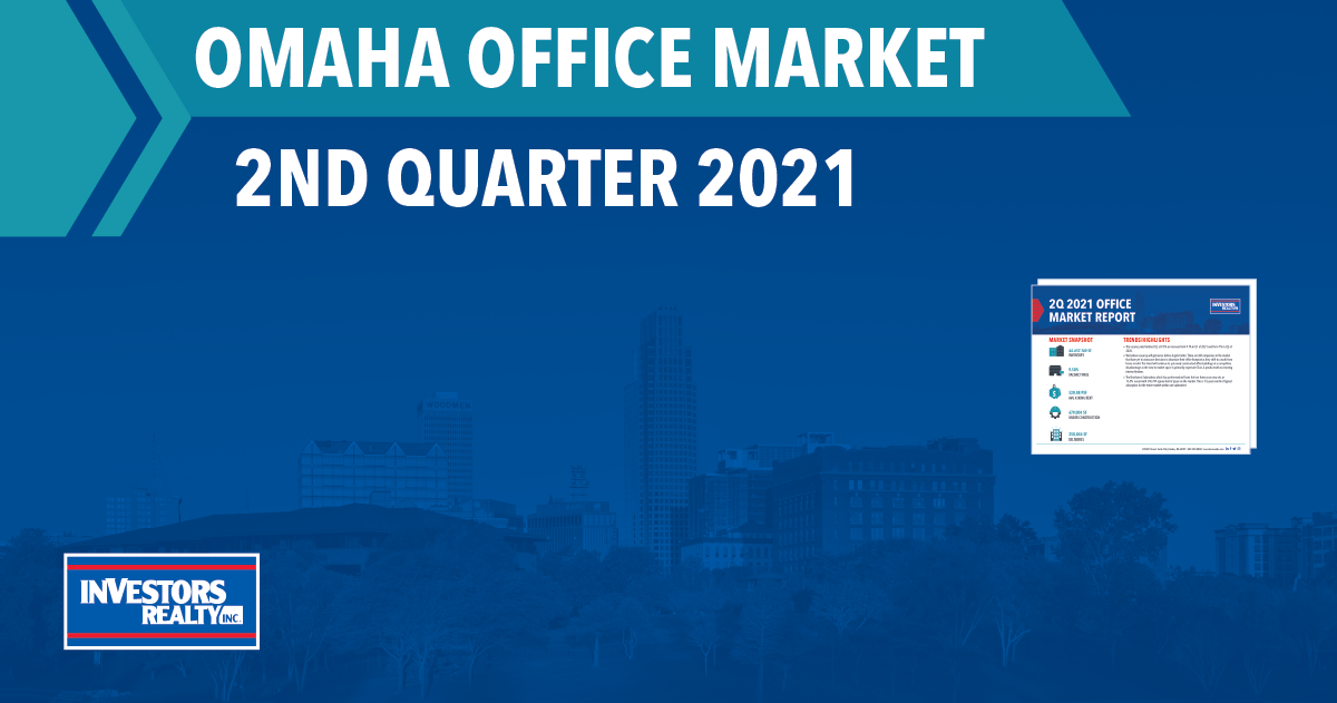 Investors Realty, Inc. 2nd Quarter 2021 Office Report