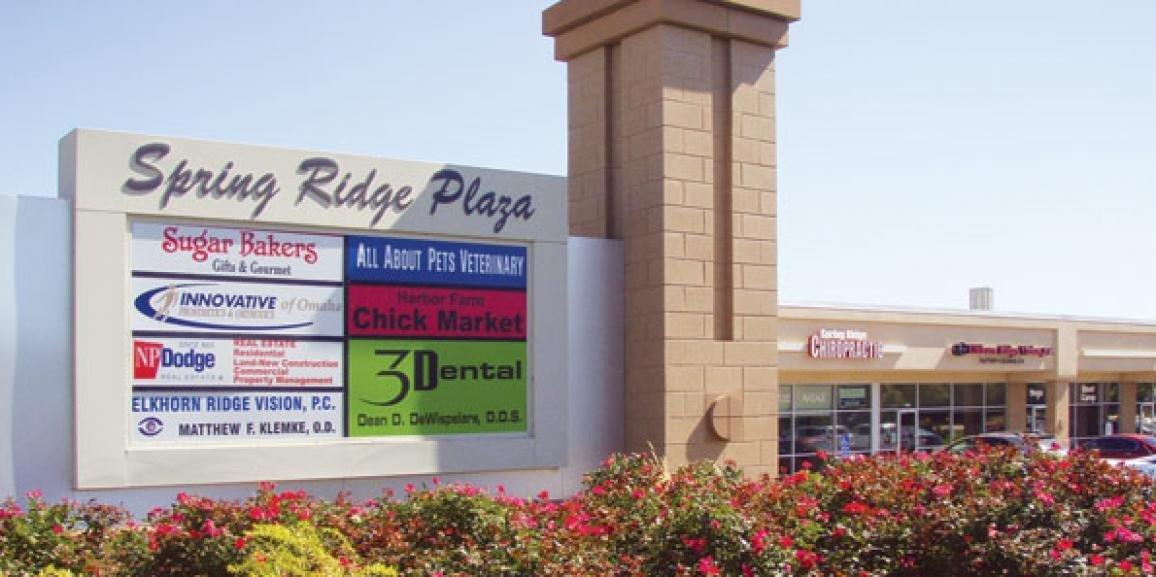 Revival of Spring Ridge Shopping Center