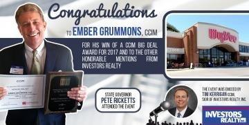 2017 CCIM BIG Deal Award Winners