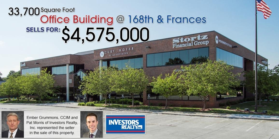 16820 Frances Street Office Building Sells for $4,575,000