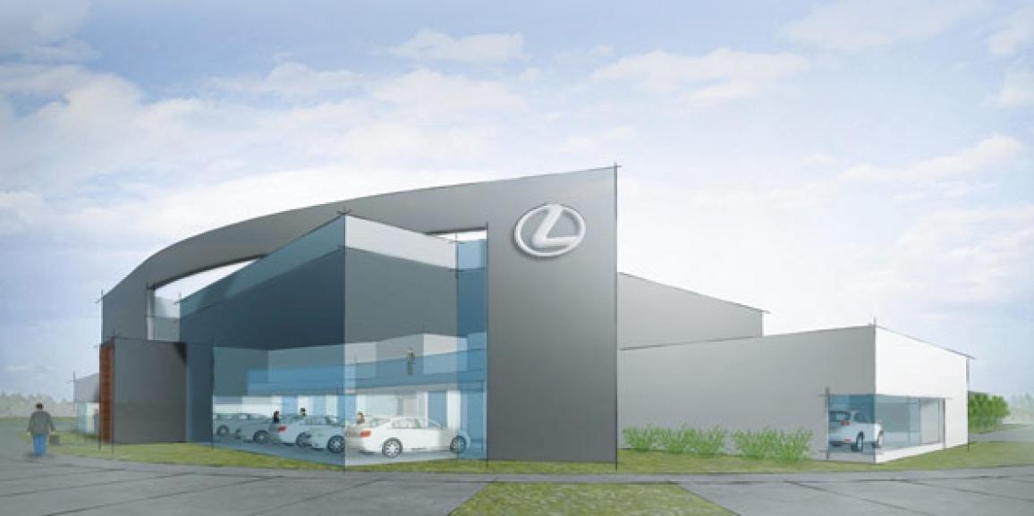 Lincoln Lexus Dealership Relocates