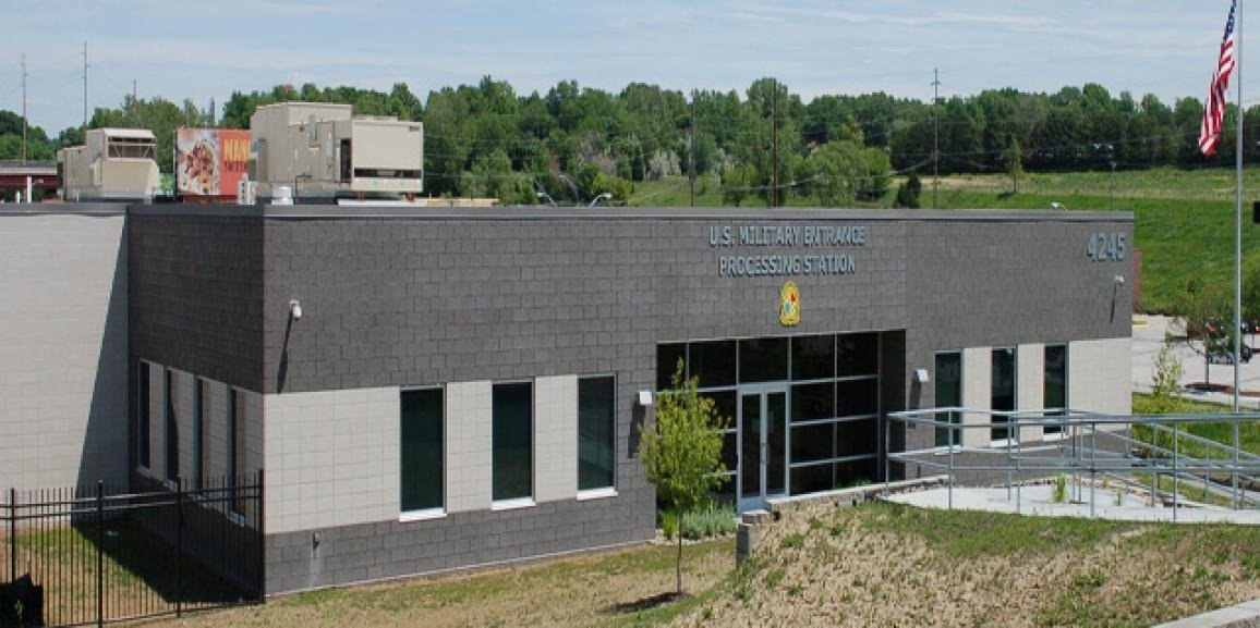 Ember Grummons, CCIM, Sells GSA Leased Military Entrance & Processing Center Building