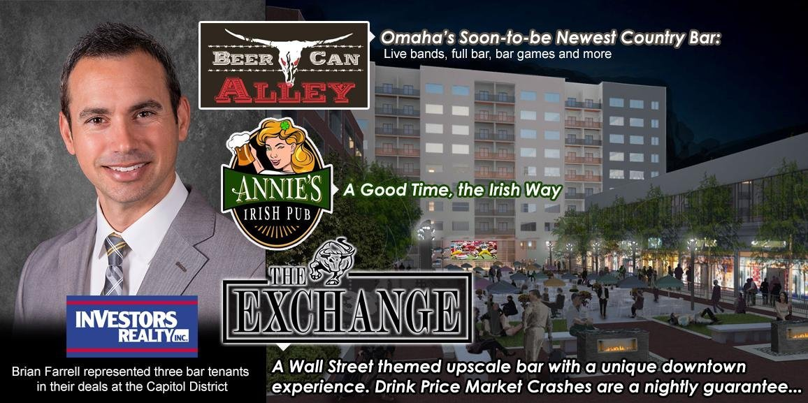 Three New Bars Coming to Omaha
