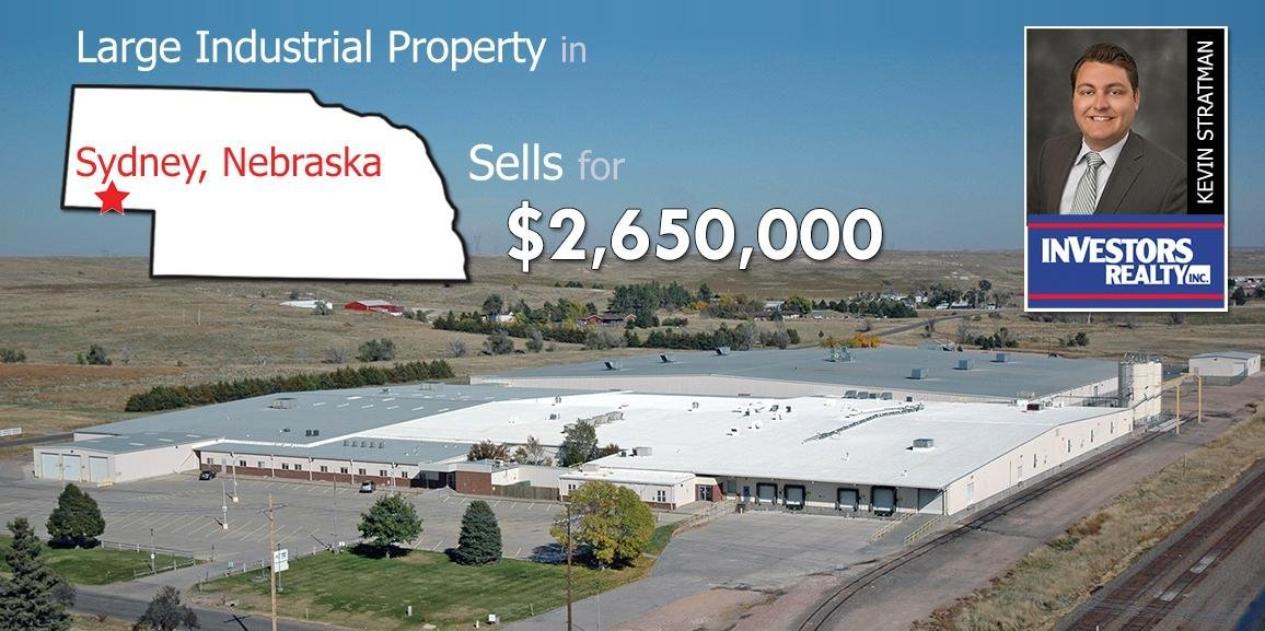 Large Industrial Property-1 Greenwood Rd in Sidney, NE Sells for $2,650,000